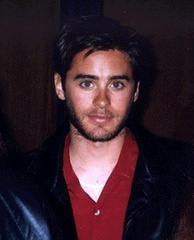 Leto at a press conference for My So-Called Life in 1995