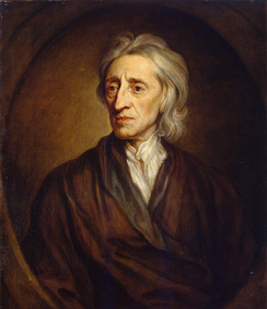 English philosopher and physician John Locke (1632–1704), a leading philosopher of British empiricism