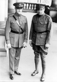 General Pershing and Private Ruth in Washington, 1924