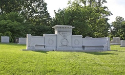 Weeks's grave in Arlington National Cemetery