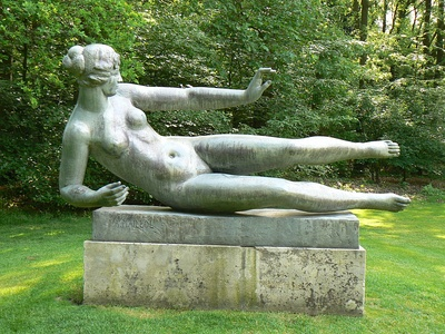 Air, by Aristide Maillol, in the Tuileries Gardens, Paris (1938)