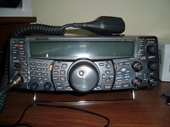 Kenwood TS-2000 (powered off)