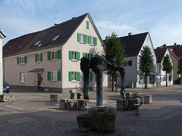 Sculpture at the Stadtberg