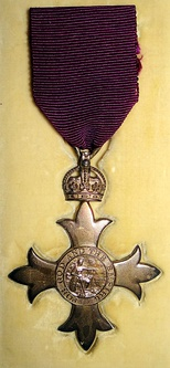 MBE (civil division) as awarded in 1918