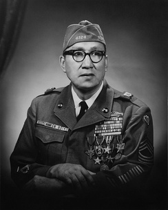 Woodrow Keeble, Medal of Honor recipient.
