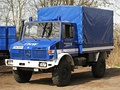Unimog 437 (U 4000) based crew lorry MLW 2 of the THW