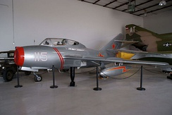 MiG-15UTI at the Cavanaugh Flight Museum