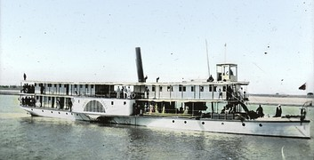 Riverboat on the Nile, Egypt 1900