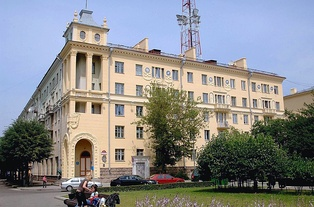 Apartment building where Oswald lived in Minsk