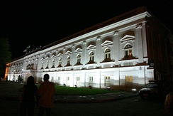 Palace of Lions at night, in São Luís
