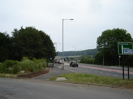 Park and Ride junction at Scarborough