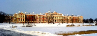 Jelgava Palace, Louis XVIII's residence from 1798 to 1801, and from 1804 to 1807