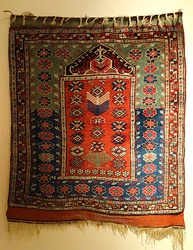 Bergama prayer rug, late 19th century