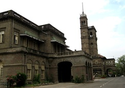 Savitribai Phule Pune University headquarters. During the British era, the building served as the Monsoon residence for the Governor of the Bombay Presidency