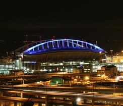 CenturyLink Field, home of the Seattle Seahawks and Seattle Sounders FC