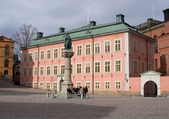 The Stenbockska Palace is the seat of the Supreme Administrative Court of Sweden