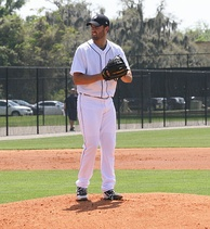 Ray with the Detroit Tigers in 2014 spring training