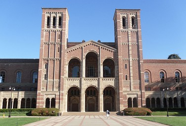 Royce Hall, at UCLA, inspired by The Basilica of Sant'Ambrogio in Milan, Italy.  see above