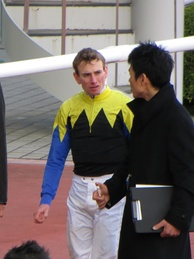Estimate's regular jockey Ryan Moore