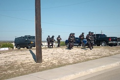 DoD SWAT officers responding to the 2009 Fort Hood shooting in Texas.