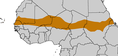 Affected areas in the western Sahel belt during the 2012 drought.
