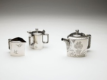 Tea set, c. 1877, held at the Birmingham Museum of Art