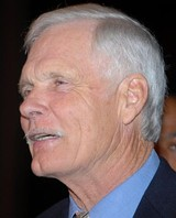 Ted Turner, class of 1960, philanthropist, America's Cup–winning yachtsman, and founder of CNN