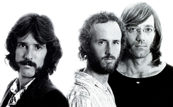 Densmore, Krieger and Manzarek in 1971