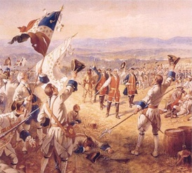 Montcalm after the Battle of Carillon.
