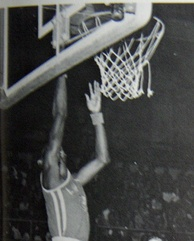 Gwynn was a standout basketball player in both high school (pictured) and college.