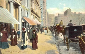 Union Square in 1908
