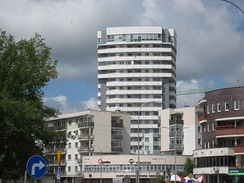 High-rise building in the city center