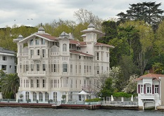 Yalı of Ahmet Afif Pasha in Yeniköy, Istanbul: one of 620 historic waterfront houses along the European and Asian shores of the Bosphorus strait.