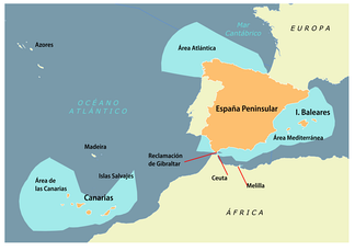 Spain's exclusive economic zone