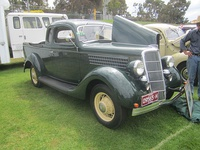 1935 Ford Model 48 coupe utility