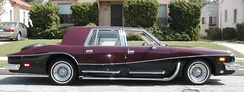 1982 Stutz Victoria - This Victoria is the only one produced with side pipes.