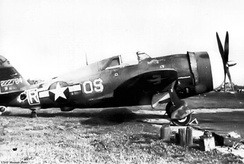 Republic P-47D-4-RA Thunderbolt Serial 42-22784 of the 357th Fighter Squadron.