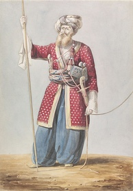 A Mamluk nobleman from Aleppo, 19th century