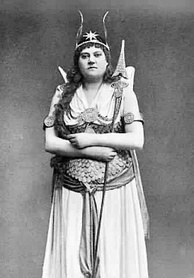 Barnett as The Fairy Queen