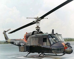 UH-1B with rockets and a grenade launcher