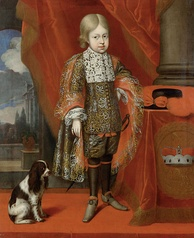 Archduke Joseph at the age of six (by Benjamin Block, 1684)