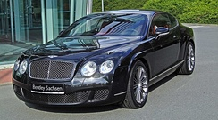Bentley Continental GT Speed front view