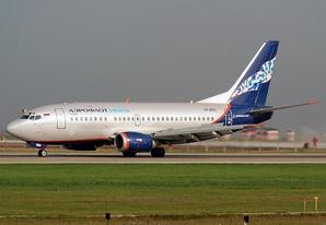 Boeing 737—500 авиакомпании «Нордавиа— региональные авиалинии»