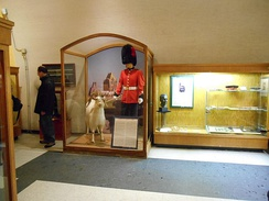The Museum of the Royal 22nd Regiment, is located at La Citadelle. Its features items of historical significance to the Canadian military.