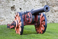 A typical cannon used during the English Civil War