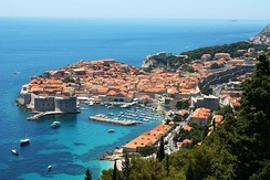 Dubrovnik is one of Croatia's most popular tourist destinations.