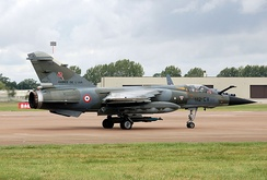 A French Air Force Mirage F1CR at the 2009 Royal International Air Tattoo