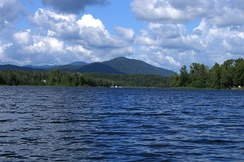 Harris Lake in Newcomb