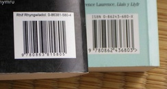 ISBN with barcode
