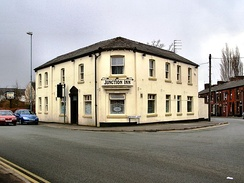 The Junction Inn in Royton, the subject of closure controversy
